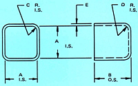Dimensional Drawing for Relay Cases (TC-86-1)